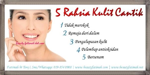 5 tip kecantikan