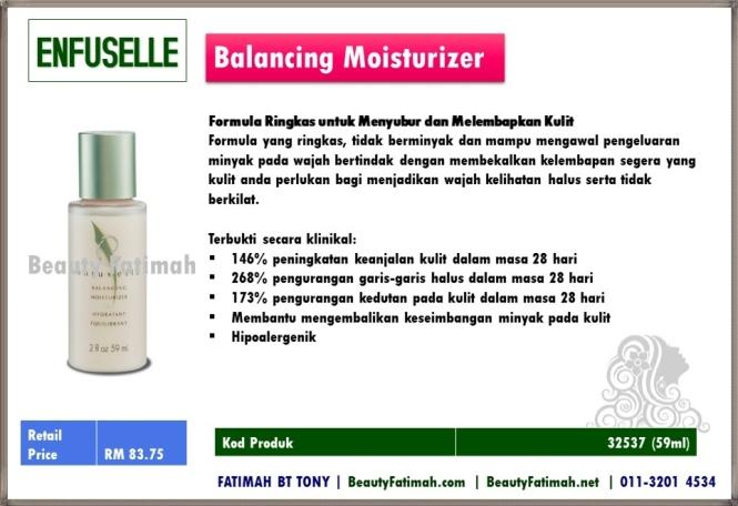 balancing moisturizer