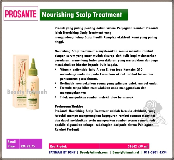 nourishing scalp treatment