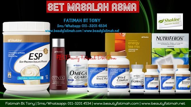 set asma shaklee