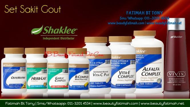 set gout shaklee